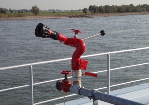 Blusmonitor binnenvaart Protek style 605